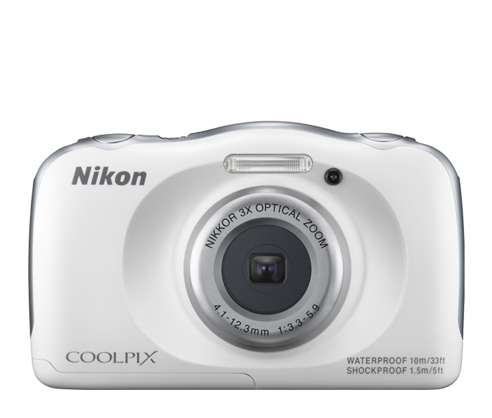 Photo of  COOLPIX S33 White