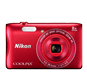 Red option for COOLPIX S3700