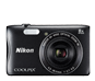Black  COOLPIX S3700