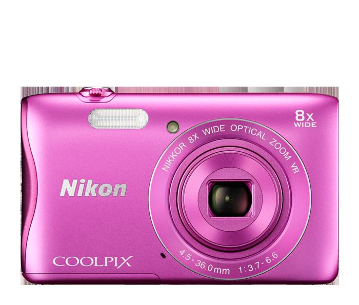 Shop Products C... Pink Nikon Camera S3700