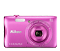 Pink option for COOLPIX S3700