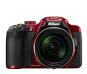 Red option for COOLPIX P610