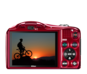Red option for COOLPIX L610