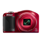 Red  COOLPIX L610