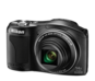 Black  COOLPIX L610