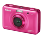 Pink option for COOLPIX S30