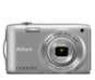 Silver option for COOLPIX S3200