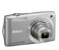 Silver option for COOLPIX S3300