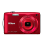 Red  COOLPIX S3300