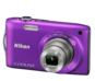 Purple  COOLPIX S3300