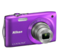 Pourpre  COOLPIX S3300