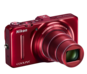 Rouge  COOLPIX S9300
