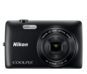 Black option for COOLPIX S4200