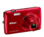Red option for COOLPIX S4300
