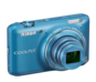 Blue option for COOLPIX S6400