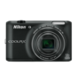 Black  COOLPIX S6400