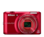 Red  COOLPIX S6400