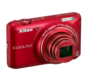 Red option for COOLPIX S6400