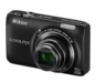 Black option for COOLPIX S6300