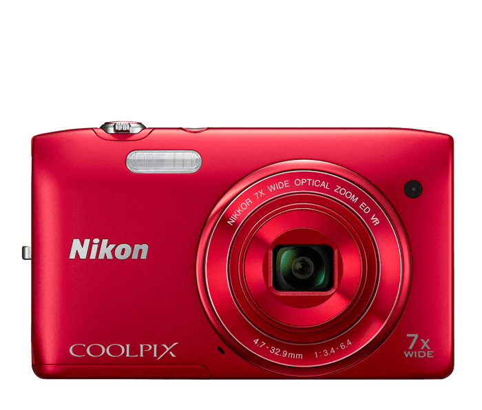 Photo of  COOLPIX S3500 Red