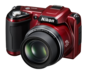 Red option for COOLPIX L110