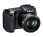 Black option for COOLPIX L110