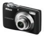 Black option for COOLPIX L22