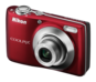Red  COOLPIX L22