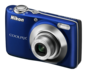 Blue option for COOLPIX L22