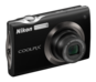 Black  COOLPIX S4000
