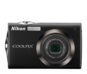 Black option for COOLPIX S4000