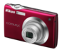 Red  COOLPIX S4000