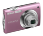 Pink option for COOLPIX S4000