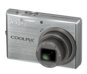 Brilliant Silver option for COOLPIX S710