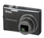 Graphite Black  COOLPIX S710