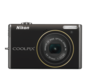 Calm Black option for COOLPIX S640