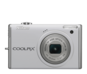 Pearl White  COOLPIX S640