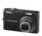 Jet Black option for COOLPIX S620