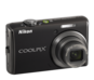 Jet Black  COOLPIX S620