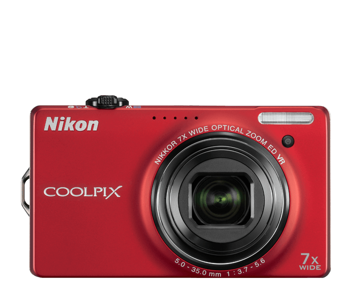 Photo of  COOLPIX S6000 Red