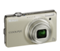 Champagne Silver option for COOLPIX S6000