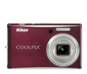 Deep Red option for COOLPIX S610