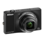 Black  COOLPIX S8000
