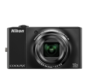 Black option for COOLPIX S8000
