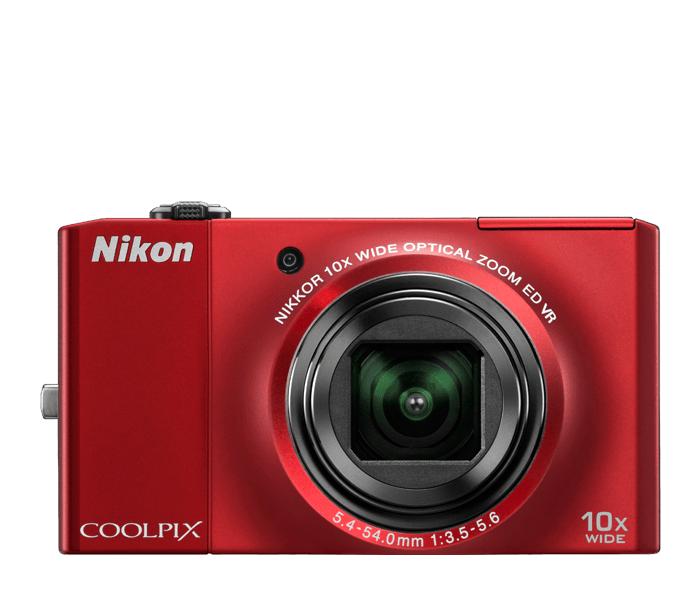 Photo of  COOLPIX S8000 Red