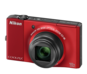 Red  COOLPIX S8000