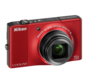 Red option for COOLPIX S8000