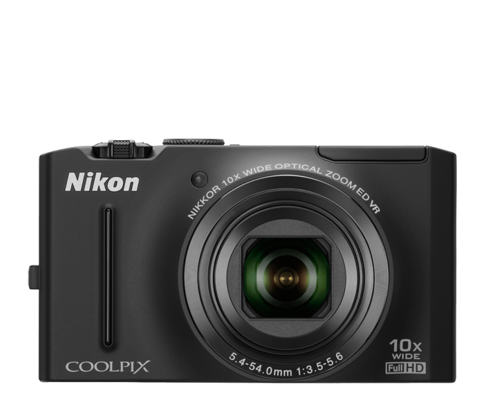 Photo of  COOLPIX S8100 Black