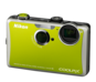 Green option for COOLPIX S1100pj