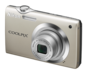 Champagne Silver option for COOLPIX S3000